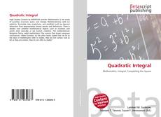 Bookcover of Quadratic Integral