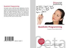 Bookcover of Quadratic Programming