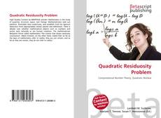 Bookcover of Quadratic Residuosity Problem