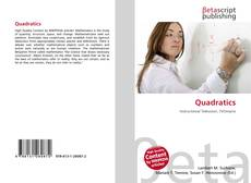Bookcover of Quadratics