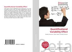 Bookcover of Quantificational Variability Effect