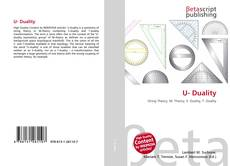 Bookcover of U- Duality