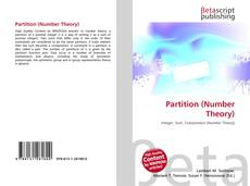Bookcover of Partition (Number Theory)