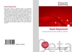 Capa do livro de Rook Polynomial