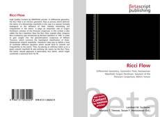 Borítókép a  Ricci Flow - hoz
