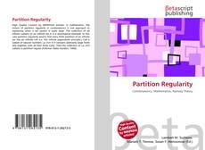 Buchcover von Partition Regularity