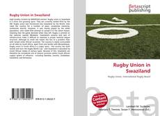 Bookcover of Rugby Union in Swaziland