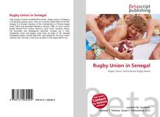 Bookcover of Rugby Union in Senegal