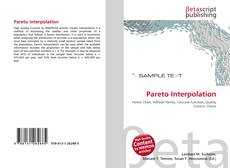 Обложка Pareto Interpolation