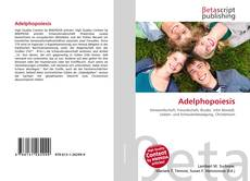 Capa do livro de Adelphopoiesis