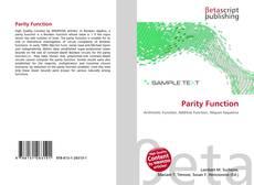 Couverture de Parity Function