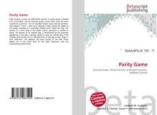 Buchcover von Parity Game