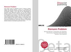 Bookcover of Riemann Problem
