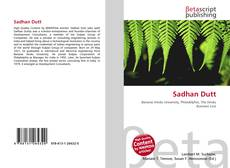 Bookcover of Sadhan Dutt