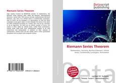 Buchcover von Riemann Series Theorem
