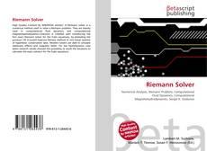 Portada del libro de Riemann Solver