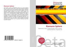 Bookcover of Riemann Sphere