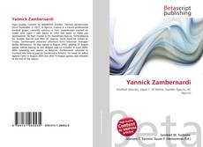 Capa do livro de Yannick Zambernardi