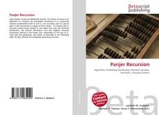 Bookcover of Panjer Recursion