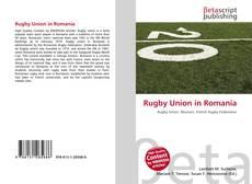 Buchcover von Rugby Union in Romania
