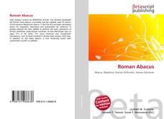 Roman Abacus kitap kapağı