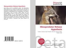 Couverture de Mesopredator Release Hypothesis