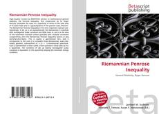 Bookcover of Riemannian Penrose Inequality