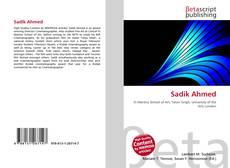 Capa do livro de Sadik Ahmed