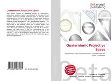 Bookcover of Quaternionic Projective Space