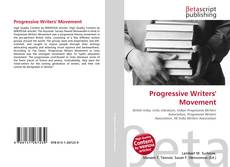 Couverture de Progressive Writers' Movement