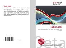 Capa do livro de Sadik Kaceli