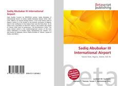 Bookcover of Sadiq Abubakar III International Airport