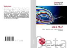 Capa do livro de Sadiq Khan