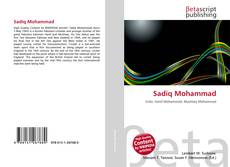 Capa do livro de Sadiq Mohammad