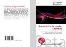 Capa do livro de Romanticism in Spanish Literature