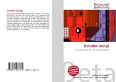 Bookcover of October (song)