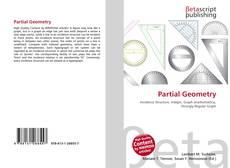 Bookcover of Partial Geometry