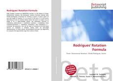 Обложка Rodrigues' Rotation Formula
