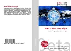 Bookcover of NEX Stock Exchange