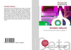 Bookcover of October (album)