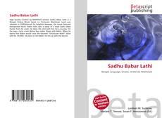 Portada del libro de Sadhu Babar Lathi
