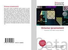 Bookcover of Octavius (praenomen)