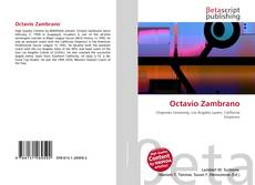 Octavio Zambrano kitap kapağı