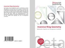 Bookcover of Inversive Ring Geometry