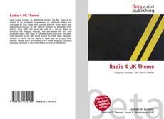 Radio 4 UK Theme kitap kapağı