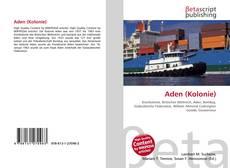 Bookcover of Aden (Kolonie)
