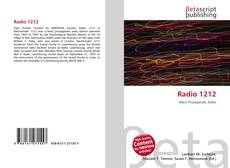 Bookcover of Radio 1212