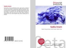 Bookcover of Sadia Imam