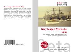 Bookcover of Navy League Wrennette Corp