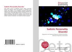 Sadistic Personality Disorder kitap kapağı